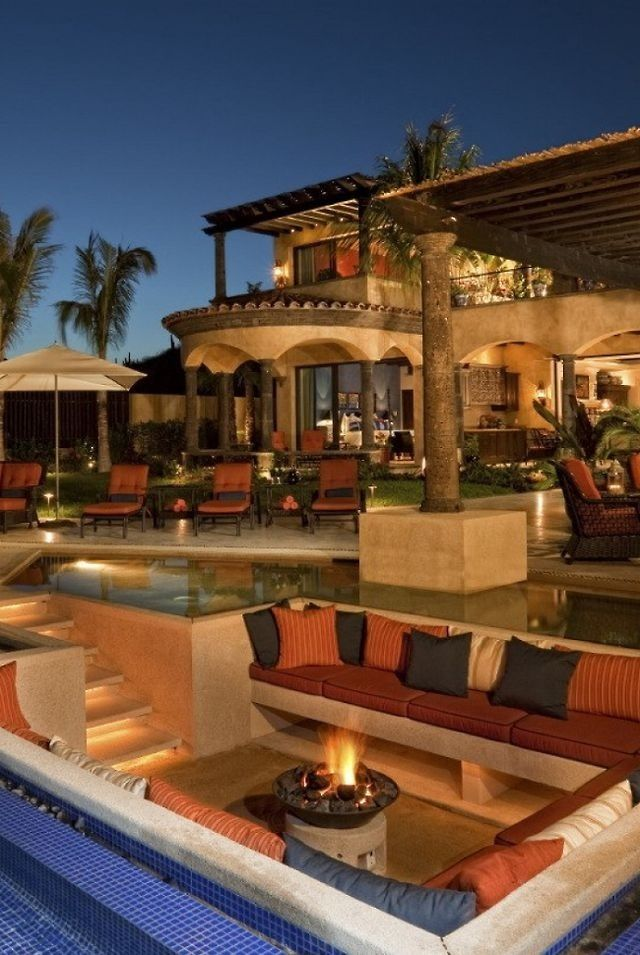 backyard luxury outdoor spaces pinterest
