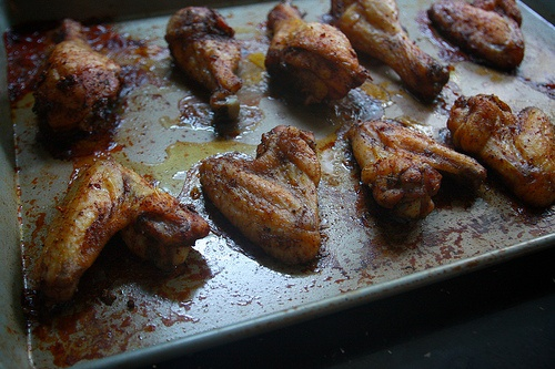 Peppery Chicken Wings | Food, and Food | Pinterest