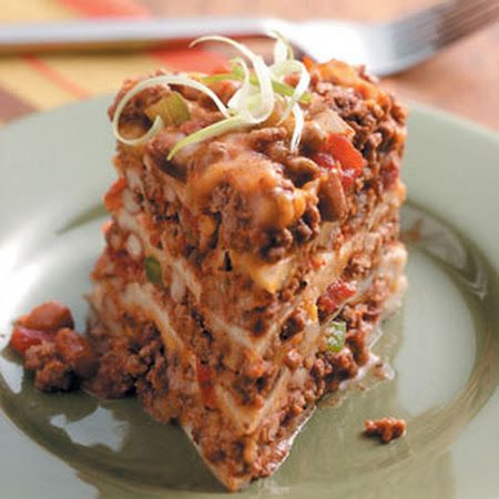 Slow-Cooked Enchilada Dinner Recipe | food | Pinterest