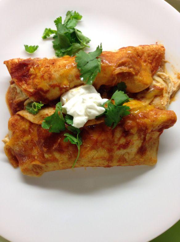 Easy Chicken Enchiladas | Tried - Try Again! | Pinterest