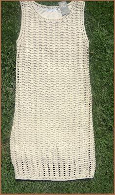 Vestido de crochê da Gregory  (crocheted dress)
