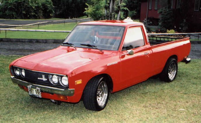 Datsun 620 Hotrods Trucks 4x4 S And All Around Cool