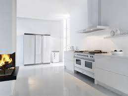 strakke witte keuken - witte vloer  Muizenvaart - keuken  Pinterest