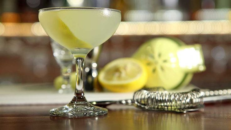 Reviver's Gordon Ryan demonstrates how to make the Corpse Reviver No.2 ...