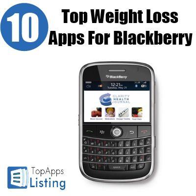 Top 10 Weight Loss Apps For Blackberry | Technology | Pinterest