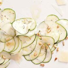 Zucchini Carpaccio (via www.foodily.com/r/npDiOkzeQ-zucchini-carpaccio ...