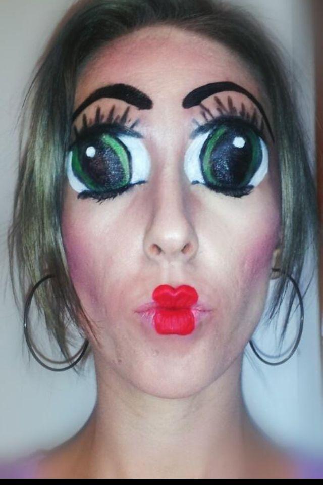 Beautiful Halloween Makeup Creepy Doll Images - harrop.us - harrop.us