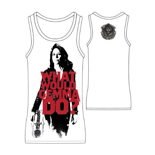 Sons of Anarchy What Would Gemma Do Women s Licensed Tank Top (Small