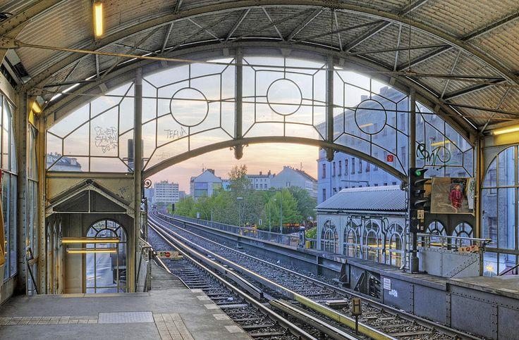 Hochbahnhof, Kreuzberg, Berlin, Germany