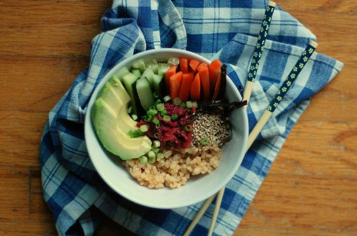 Deconstructed Sushi Bowl (Vegan, Gluten-Free)// Arielle Likes to Cook