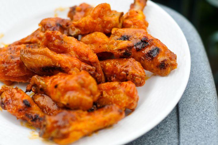 Barbecued Buffalo Wings Recipe — Dishmaps
