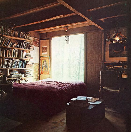 Bedroom for book lovers no place like home pinterest for Bedroom ideas for book lovers