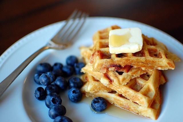 Brown sugar bacon waffles | Sweets | Pinterest