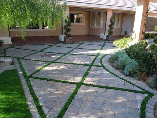 Paver patio designs patterns home stuff pinterest for Pinterest patio pavers