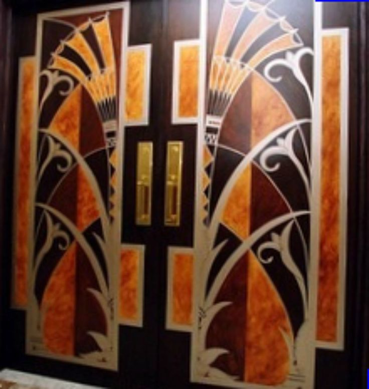 Art Deco Doors Art Deco Home Decor 1920s 1930s Pinterest