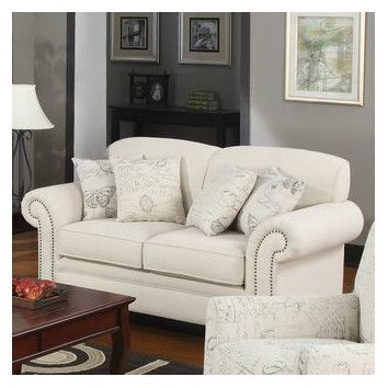 Wildon Home ® Capetown Linen Blend Loveseat
