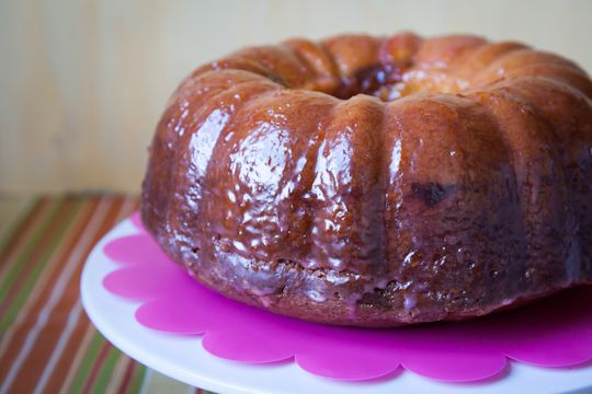 Sour Cream Blood Orange Bundt Cake with Cocoa Filling by Irvin Lin of ...