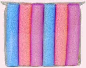 Lilith Moon Bouncy Curls with Jumbo Curlers Shop | Buy bendy foam hair rollers for overnight curls and waves without heat | 1'' - 1,4'' - 1,5'' inches / 35mm - 40mm / 3,5 cm - 4cm wide