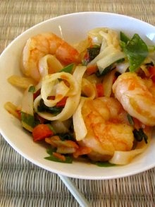 Stir-Fried Shrimp And Carrots With Toasted Almonds Recipes ...