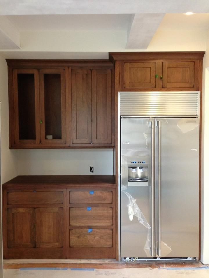 Pin by whitney scates on scates home 2016 pinterest for Barker kitchen cabinets