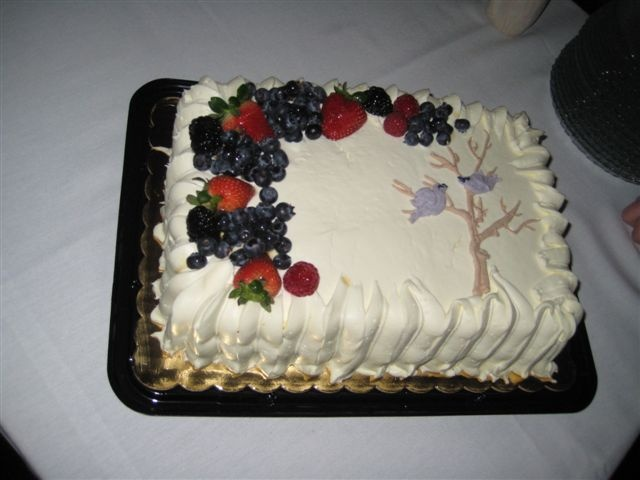 Cake at Rehearsal Dinner Mother of the Bride Pinterest