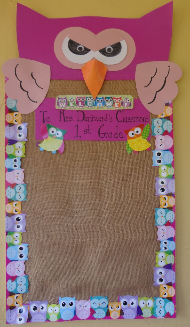 Classroom Bulletin Board Ideas With Owls ~ Owl classroom bulletin board ideas pinterest