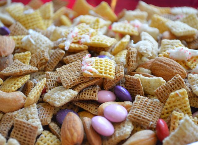 ... Easy/lighter Chex Mix Trail Mix (can be gluten-free). Homemade treats