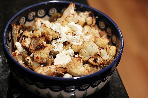 Roasted Cauliflower Salad | Weeknight Dinner Menus | Pinterest