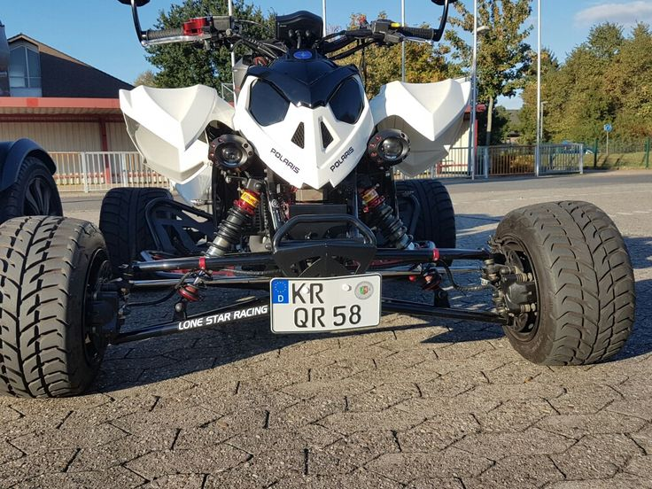 Ideal  Polaris Outlaw irs Quad Pinterest Atv Expedition vehicle and Street bikes
