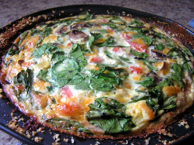 ... of Bread // Easy family recipes and reviews.: CRUSTLESS SPINACH QUICHE