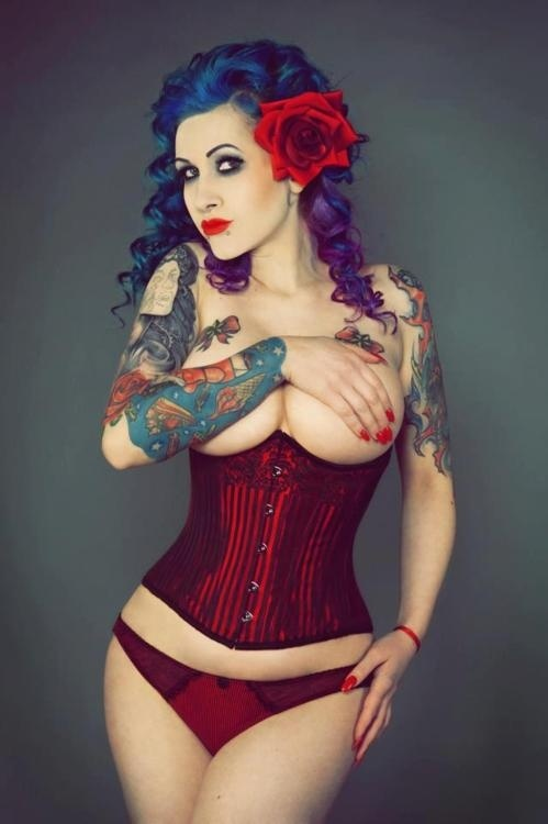 Pin by john willey on pin up ladies pinterest - Tattooed pin up models ...