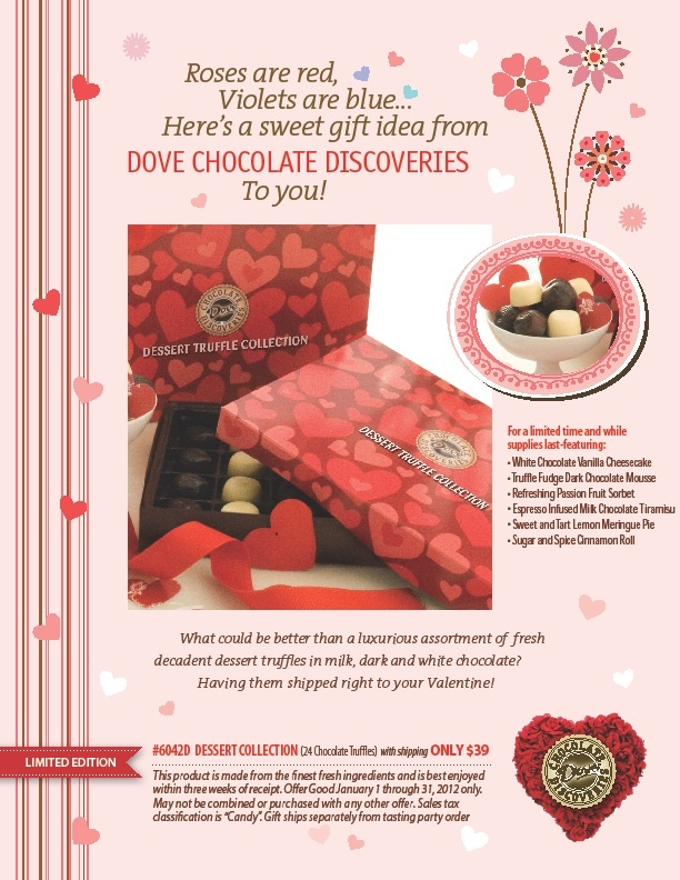 dove chocolate valentine's day gifts