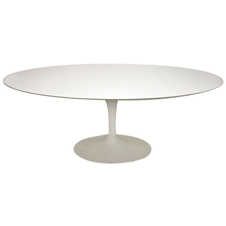 Oval Dining Table By Eero Saarinen For Knoll Circa 1950 USA Thank