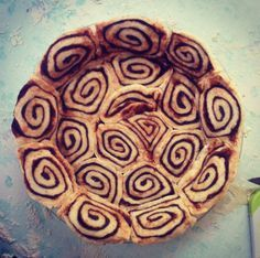 Cinnamon roll pie crust! Recommended for sweet potato pie. | best ...