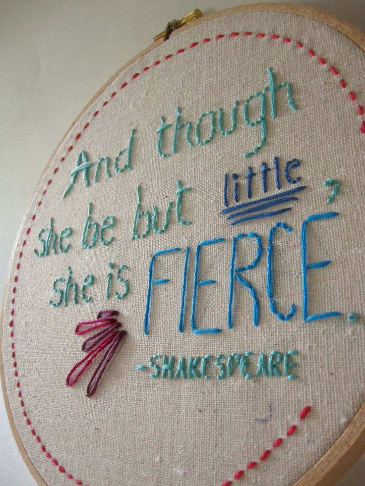 Embroidery quotes quotesgram