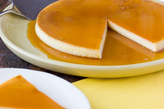 Brazilian Flan (Pudim de Leite) I've been looking for a good flan ...