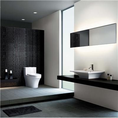 Ultra modern bathroom for Ultra modern bathroom