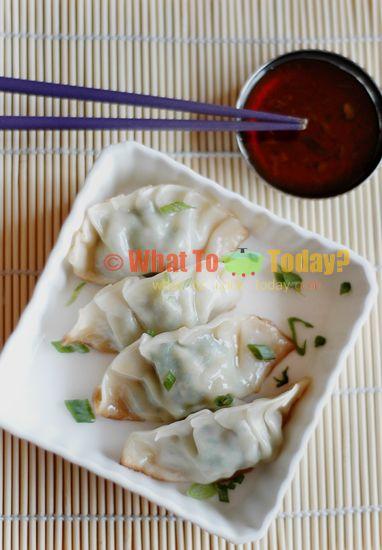 GYOZA/ JAPANESE PAN-FRIED DUMPLINGS (35-40 dumplings) | Recipe