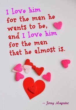 valentine romantic quotes for him