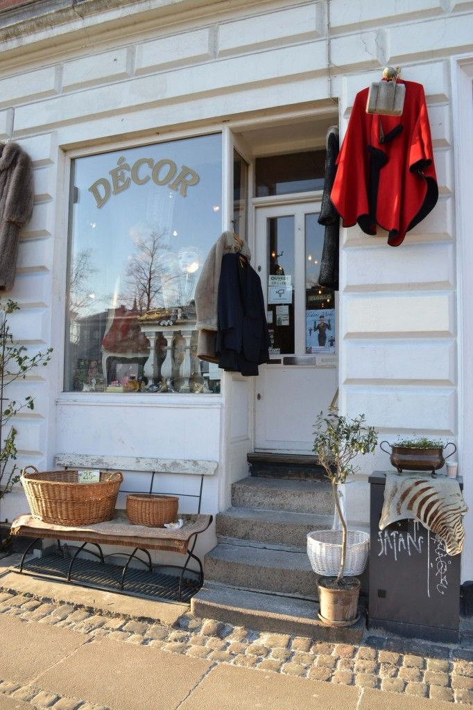 d cor vintage copenhagen vintage shop ideas pinterest