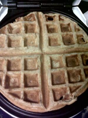 Crocodile: Sour Cream Oat And Buckwheat Flour (Gluten Free) Waffles ...