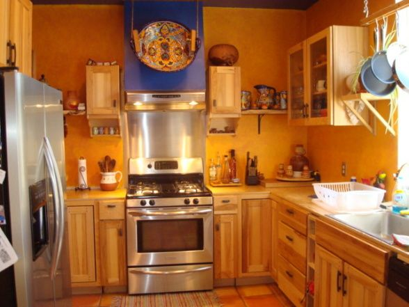 Southwest Kitchen Designs Southwest Style Home Traditional Kitchen Albuquerque By Design Build