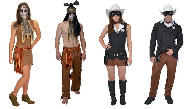 Found on img gawkerassets comLone Ranger Costume For Women
