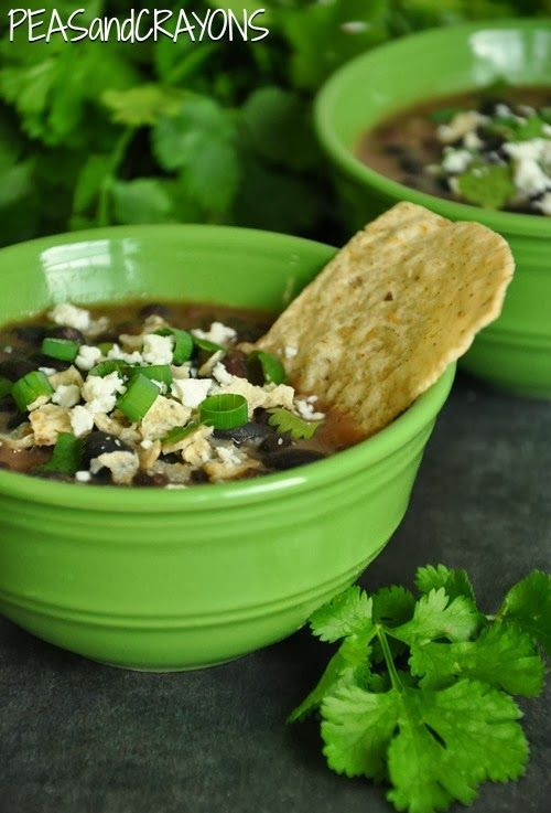 Slow Cooker Black Bean Soup | Food & Drink | Pinterest