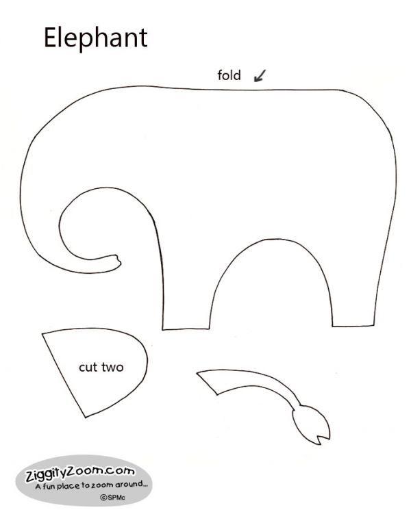 Elephant Template To Print | New Calendar Template Site
