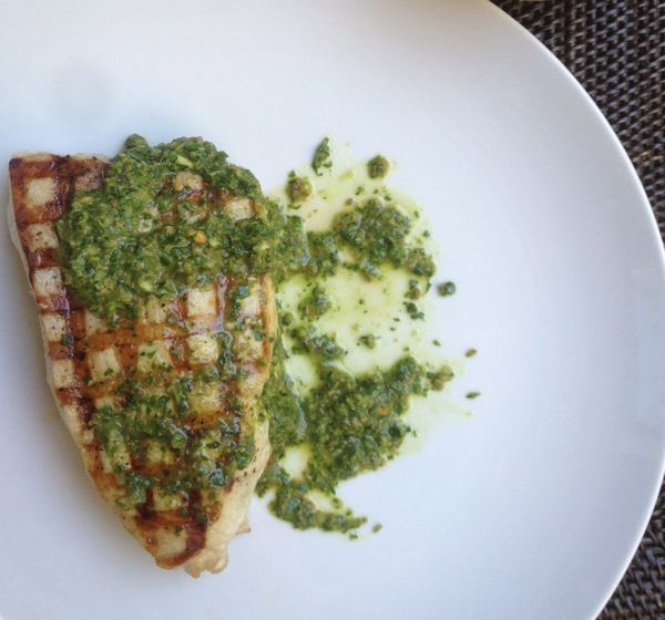 Herb-baked Swordfish Recipe — Dishmaps