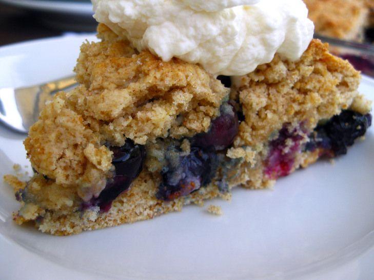 Baked blueberry shortcake | Dessert Addiction | Pinterest