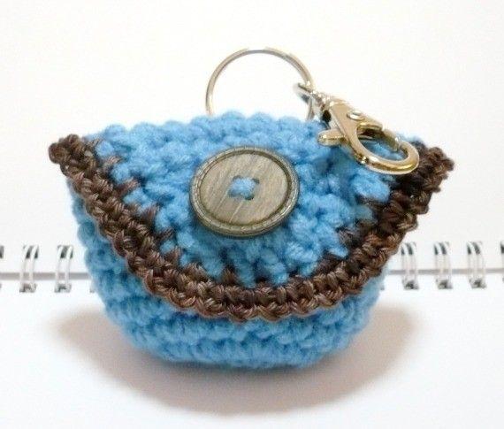 Small Bag Crochet : Coin Purse Crochet Pattern Small Bag Crochet Pattern Mini Purse Patte ...