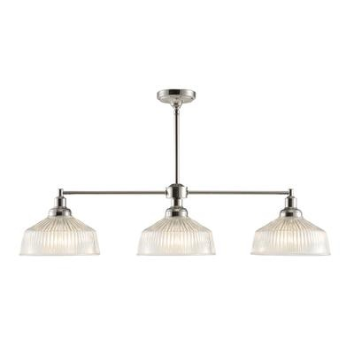 ribbed glass 3 light kitchen island pendant home depot canada