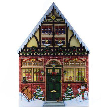 Amazon.com - Byers Choice Christmas House Advent Calendar